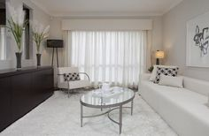 Alluring Window provides high-quality, custom window treatments, custom drapes, motorized blinds, and more in the NYC area. Custom Made Curtains, Modern Curtains, White Curtains, Curtains With Blinds, Lounge Curtains, Roman Blinds, Curtain Pelmet, Drapery, Curtain Inspiration