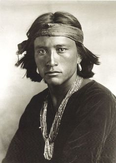 Navajo man in 1904.Hope You All Enjoy Seeing More Men and Woman From 5 Native American Tribes Over 100 Years Ago Compared to Today