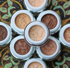 Creamed mineral foundations