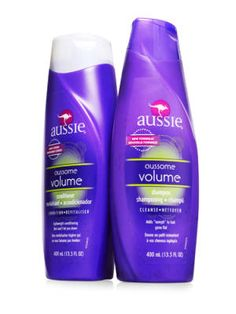 Best Shampoo and Conditioner for Fine Hair, Aussie Aussome Volume Shampoo, $3.19, cvs.com, and Aussie Aussome Volume Conditioner, $3.99, drugstore.com. Two sexy-hair musts: bouncy volume and a girlie smell. Nail both with this twosome.