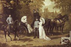 Franz Joseph y Elisabeth.