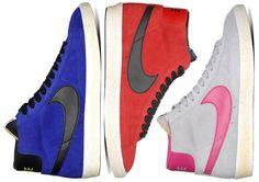 Nike Blazer Mid Vintage PRM Suede – Fall 2012