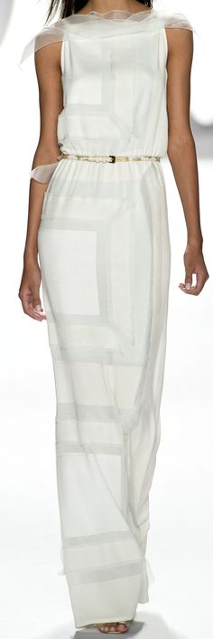 Carolina Herrera Ready To Wear Spring 2013