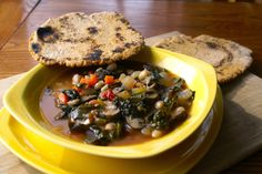 Warm up with this hearty Tuscan Kale and White Bean Soup! Tried 3/18/2014. Easy way to fit mushrooms and kale into the diet. Maybe a bit too heavy on the onions and needed a lighter hand on the crushed red pepper. We used packaged baby kale.