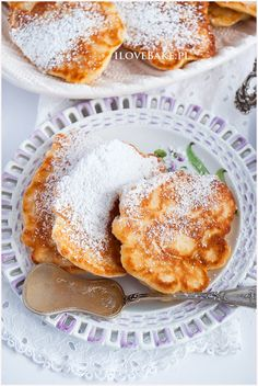 placuszki serowe French Toast, Breakfast, Ethnic Recipes, Food, Meals, Meal, Eten, Morning Breakfast