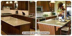 St. Cecilia Granite Countertops
