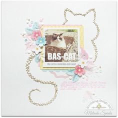 Meme/Quote Challenge: Bas-Cat layout by Melinda