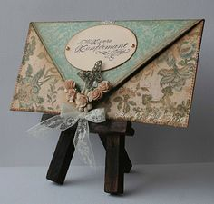 The Pixie Cottage: Super Envelope Card Tutorial from Anne