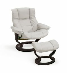 Ekornes Stressless Mayfair Recliner with Ottoman. Visit our website or call (800)-796-9656 to hear about our Showroom Specials! We would love to hear from you!  Check Out our YouTube Videos!  https://www.youtube.com/vitalityweb