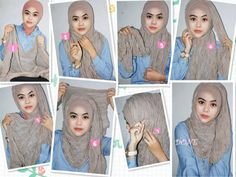 Basic 5 Minutes Hijab Tutorial