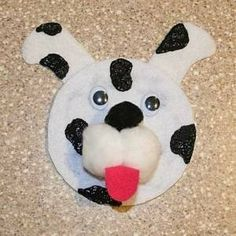 no. 4 dog paper plate craft