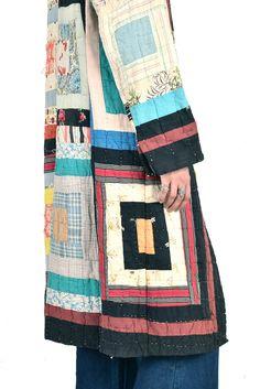 Cassidy Patchwork Crazy Quilt Coat | BUSTOWN MODERN