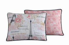 Avondale Manor Amour 5-Piece Quilt Set, Queen, Pink -- Want additional info? Click on the image. (This is an affiliate link) Paris Decor, Paris Theme, Urban Outfitters, Duvet, Shabby, Paris Ville, Quilted Bedspreads, Quilt Sets, Bedding Collections