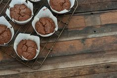 Chocolate Cream Cheese Muffins (Low Carb)