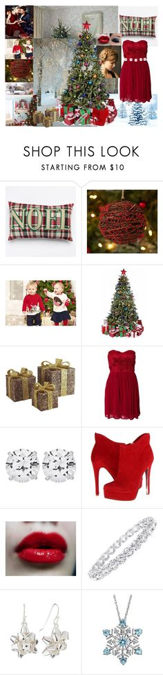 """""""It is soon Christmas."""" by glee2shake ❤ liked on Polyvore featuring Pottery Barn, Juicy Couture, Rebecca Minkoff, Pier 1 Imports, Anja, Elise Ryan, CARAT* London, Chinese Laundry, NYX and Jewels by Viggi"""