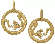 Wendy Brandes Queen of Scots snake earrings | JCK On Your Market