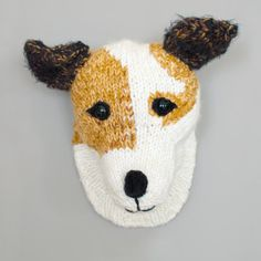 Custom Made Hand Knitted Faux Taxidermy Jack by sincerelylouise, $193.00