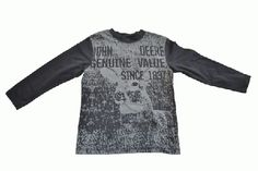 Cool deer graphic on the front of this John Deere long sleeved t-shirt. John Deere Kids, Kids Hats, Youth, Long Sleeve, Sweaters, T Shirt, Clothes, Fashion, Supreme T Shirt