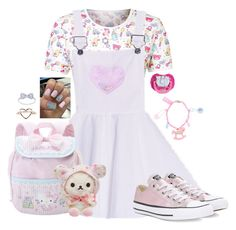 """""""💕"""" by meow-im-dead-inside ❤ liked on Polyvore featuring Converse"""