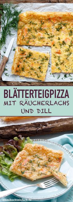 Quick puff pastry pizza with smoked salmon and dill - emmikochteinfach - Der Fo.- Quick puff pastry pizza with smoked salmon and dill – emmikochteinfach – Der Fo… Quick puff pastry pizza with smoked salmon and dill -… - Puff Pastry Pizza, Puff Pastry Recipes, Pizza Recipes, Crockpot Recipes, Healthy Recipes, Cake Recipes, Salmon Recipes, Asian Recipes, Pizza Rapida