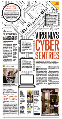 The Virginian-Pilot's front page for Sunday, March 1, 2015.