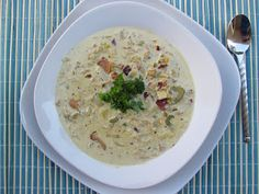 Crock Pot Clam Chowder      INGREDIENTS  3 - 10oz cans of Fancy Whole Baby Clams  1 lb. Thick Cut Bacon  8 oz. Cream Cheese - Softened  1 1/2 Cups Heavy Cream  2 Cups Clam Juice  1/4 Cup Chicken Broth  4 Cloves Garlic - Minced  2 Tbs. Butter  1 Shallot - Thinly Sliced  1 Leek, cleaned, trimmed, halved lengthwise and sliced  2 Celery stalks - Diced  1 Medium Onion - Chopped  2 tsp. Sea Salt  1 tsp. Black Pepper  1 tsp. Garlic Powder  1 tsp. Thyme  (2 Tbs. Peace and Love)    DIRECTIONS  Heat…