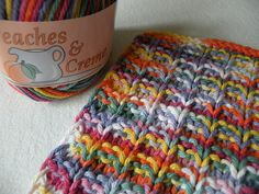 Double Bump Dishcloth by Missy Angus free knitting pattern on Ravelry at http://www.ravelry.com/patterns/library/double-bump-dishcloth