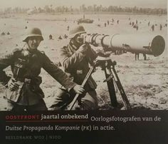 German war photographers of the Propaganda Kompanie (PK) on the eastern front (date unknown) | pin by scann R