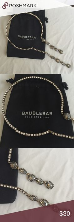 Bauble Bar Necklace Love love love this! Worn once for a photo shoot. Bauble Bar Jewelry Necklaces