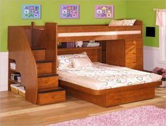 building plans for loft bed with stairs | DIY Woodworking Plans