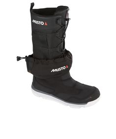 New Musto Gore-Tex Ocean Racer  sailing boots - an elastic bungee secures tight fit and gaiters makes boot more waterproof