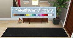 Handwoven Runners at Onyx Sims via Sims 4 Updates