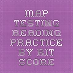 MAP Testing Reading Practice by RIT Score…need to check this out Response To Intervention, Reading Intervention, Reading Practice, Teaching Reading, Classroom Map, Classroom Ideas, School Tool, School Stuff, Sixth Grade Reading