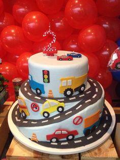 2nd Birthday Party For Boys, Baby Birthday Cakes, Cars Birthday Parties, Car Birthday, Transportation Birthday, Tutu Party, Party Shop, Cake Mold, Ideas