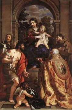 The Athenaeum - Madonna and Saints (Pietro da Cortona - )