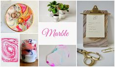 Marble Obsesion How to fake marble ideas!
