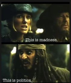 Pirates of the Caribbean Elizabeth Swan and Captain Jack Sparrow Will Turner, Johnny Depp, Jack Sparrow Quotes, Jake Sparrow, Jack Sparrow Funny, Funny Memes, Hilarious, Mom Funny, Funny Facts
