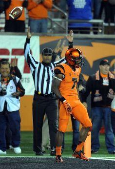 Oregon State's all Orange Uniforms