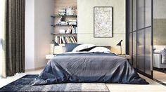 ¿Por qué un departamento pequeño puede estar pintado en blanco? Porque esta tonalidad da la sensación de un espacio amplio.Como este ejemplo de M3 Architectural & Construction Group.. Foto 5 de 5