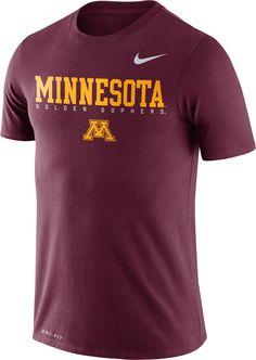 012b27a99cbb Nike Men s Minnesota Golden Gophers Maroon Football Dri-FIT Facility T-Shirt
