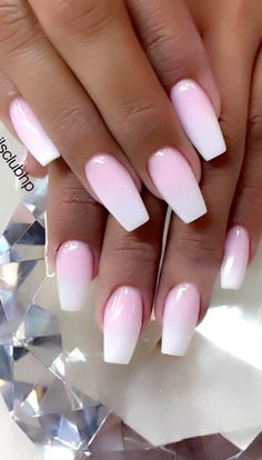 Cute and Beauty Ombre Nail Design ideas for This Year 2019 - Page 18 of 24 - Dai. :separator:Cute and Beauty Ombre Nail Design ideas for This Year 2019 - Page 18 of 24 - Dai. Ombre Nail Designs, Acrylic Nail Designs, Nail Art Designs, Nails Design, Nails French Design, Cute Spring Nails, Best Acrylic Nails, Summer Acrylic Nails, Summer Nails