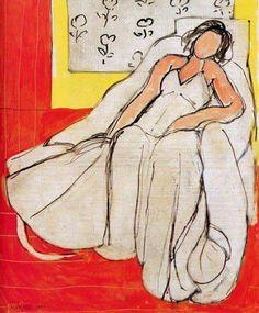 La ragazza che dorme  by Henri Matisse