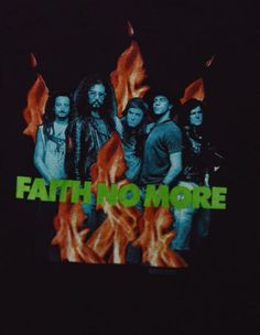 Vintage 80s Faith No More The Real Thing T-Shirt
