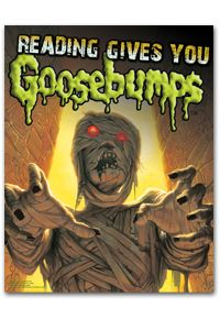 Goosebumps Poster - Posters - Products for Children - ALA Store