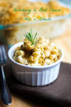 Rosemary & Goat Cheese Mac n' Cheese