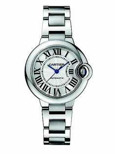 Cartier - Stainless Steel Round Bracelet Watch - Saks.com