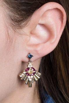 Vintage Retro Black Gold Cute Owl Crystal Stud Earrings Accessory R TOOGOO