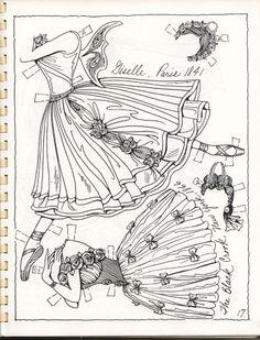 Posts about Artist drawn paper dolls