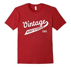 Vintage Aged to Perfection 50th Birthday Gift 1966 T-Shirt - Male Small - Cranberry Flippin Sweet Gear http://www.amazon.com/dp/B01BUQI61C/ref=cm_sw_r_pi_dp_OtmXwb1RV7KM1