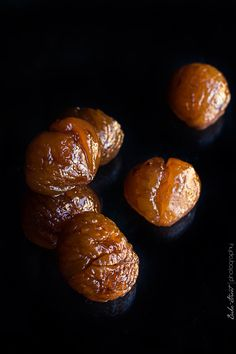Cómo hacer Marrons Glacés - Bake-Street.com Kinds Of Desserts, Tasty, Yummy Food, Healthy Treats, No Bake Cake, I Foods, Finger Foods, Sweet Recipes, Gastronomia